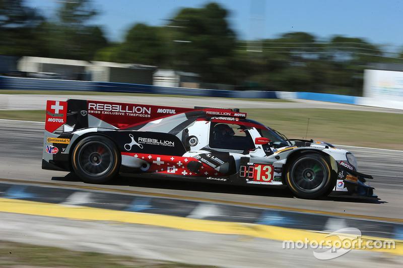 1. P: #13 Rebellion Racing, ORECA 07