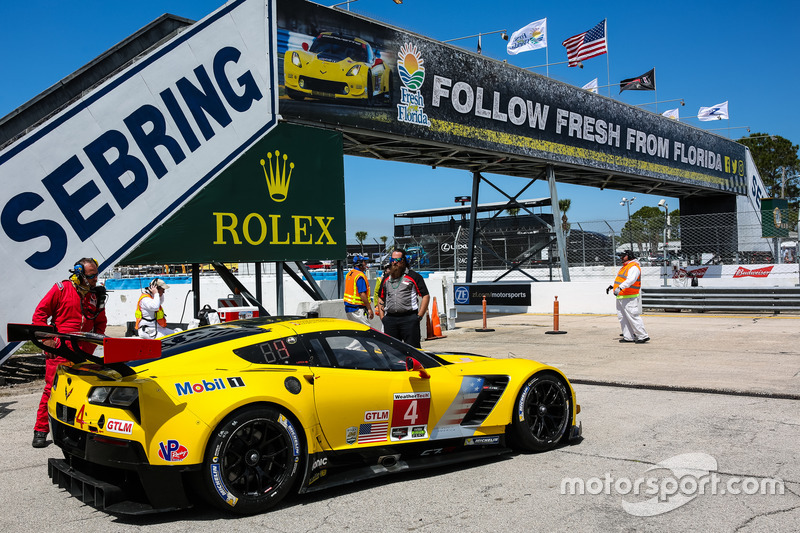 10. GTLM: #4 Corvette Racing, Chevrolet Corvette C7.R - Ausfall