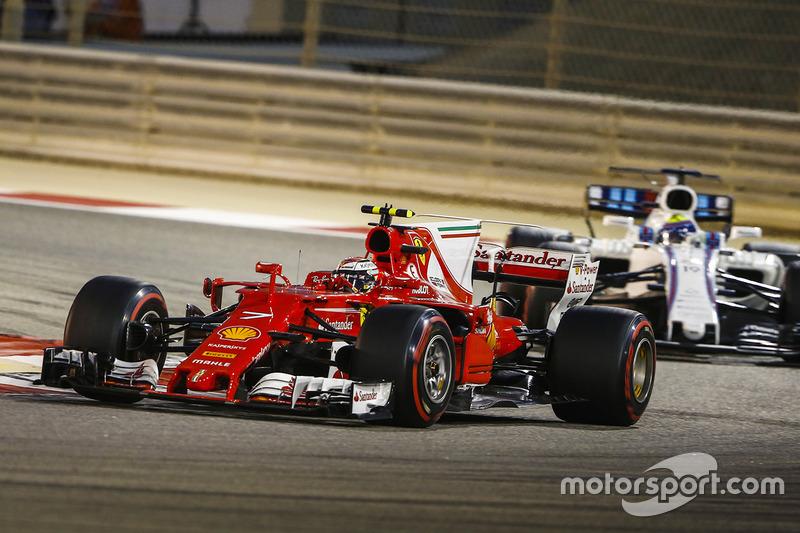 4e Kimi Raikkonen, Ferrari SF70H