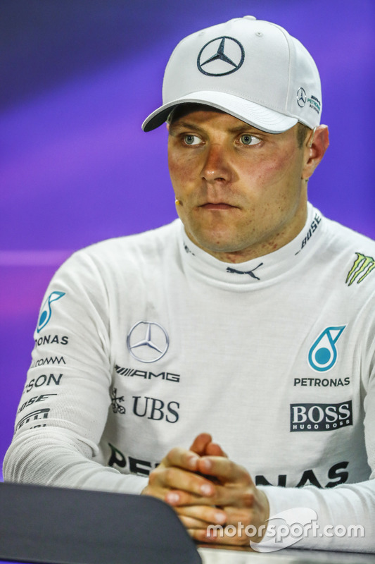 Post-race press conference: third place Valtteri Bottas, Mercedes AMG F1