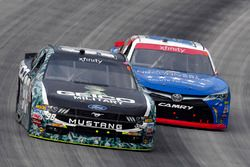 Casey Mears, Biagi-DenBeste Racing Ford and Matt Tifft, Joe Gibbs Racing Toyota