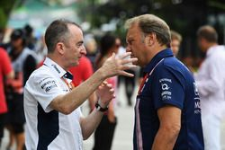 Paddy Lowe, Williams Shareholder and Technical Director and Robert Fearnley, Sahara Force India F1 Team Deputy Team Principal