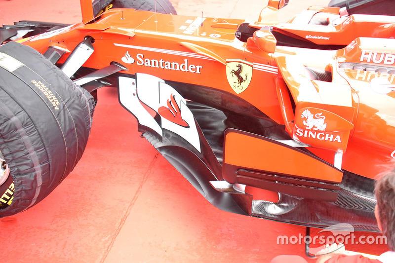 Côté de la Ferrari Ferrari SF70H