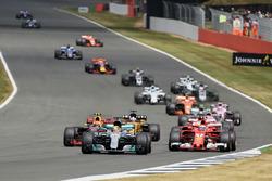 Start, Lewis Hamilton, Mercedes F1 W08
