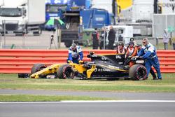 Opgave voor Jolyon Palmer, Renault Sport F1 Team RS17
