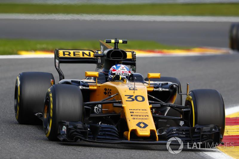 Giro 27 - Jolyon Palmer, Renault Sport F1 Team RS17