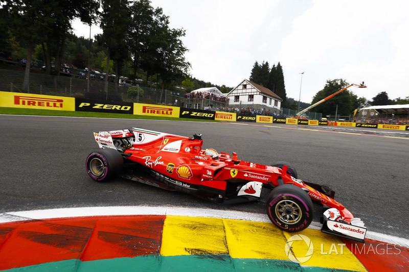 2017 (решта сезону). Ferrari SF70H