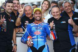 Il secondo classificato Mattia Pasini, Italtrans Racing Team
