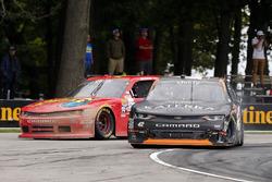 Justin Marks, Katerra Chevrolet Camaro y Ross Chastain, JD Motorsports Chevrolet