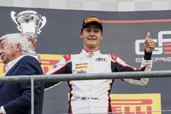 Podium: 2e plaats George Russell, ART Grand Prix