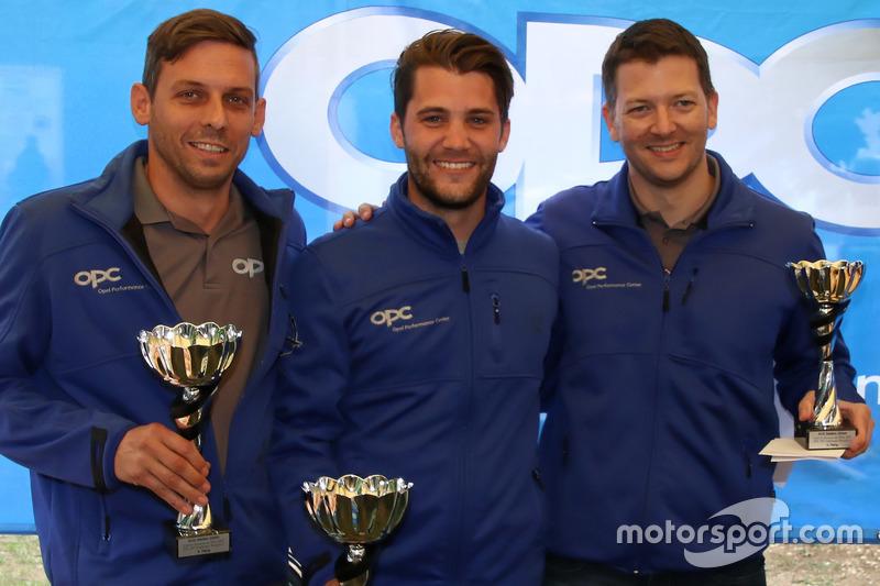 Christian Zimmermann, Thierry Kilchenmann, Marcel Muzzarelli, podio Gara 1