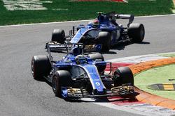 Marcus Ericsson, Sauber C36, Pascal Wehrlein, Sauber C36