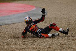 L'accident de Bo Bendsneyder, Red Bull KTM Ajo