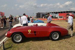 Ferrari storiche in esposizione a Fiorano