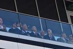 Chase Carey, Director Ejecutivo y Presidente Ejecutivo de la Group Fórmula One, Vladimir Putin, Pres