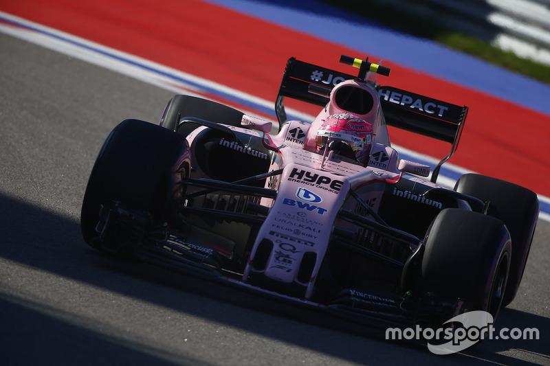 7e Esteban Ocon, Sahara Force India F1 VJM10