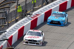 Cole Custer, Stewart-Haas Racing, Ford; Matt Tifft, Joe Gibbs Racing, Toyota