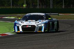 #26 Sainteloc, Audi R8 LMS: Christian Kelders, Christopher Haase, Marc Rostan