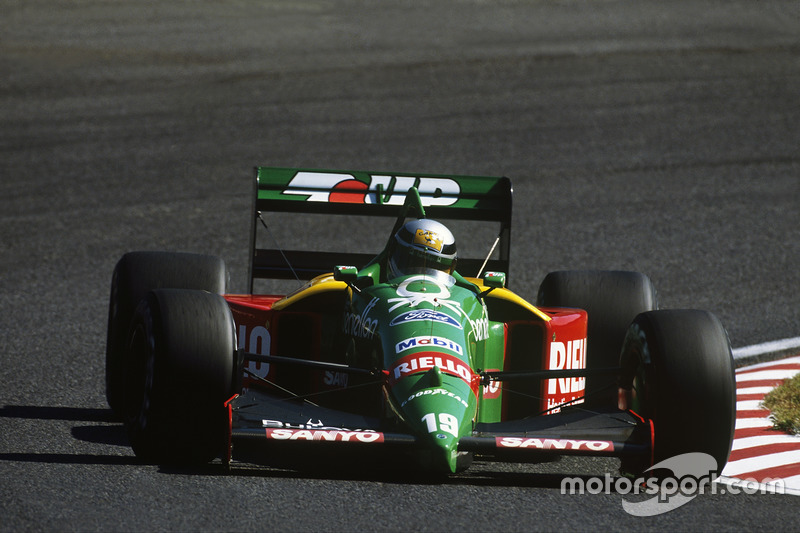 Alessandro Nannini (Benetton) - GP van Japan 1989