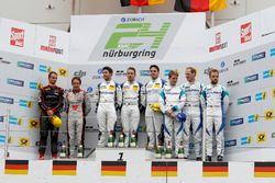 Podyum: 1. #5 Phoenix Racing, Audi R8 LMS: Mike Rockenfeller, Nicolay Møller Madsen, Dennis Busch, 2