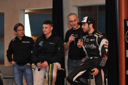 Gianmarco Ercoli, Alex Caffi and Alon Day