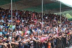 Atmosfera sulle tribune di Pangkal Pinang