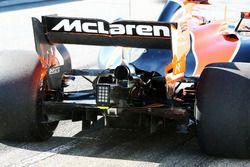 McLaren MCL32: Heckflügel und Diffusor