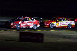 Fabian Coulthard, Team Penske Ford, Simona de Silvestro, Nissan Motorsports