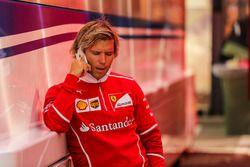 Antti Kontsas, entrenador de Sebastian Vettel, Ferrari