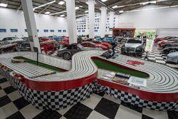 Tour del garage di Nelson Piquet