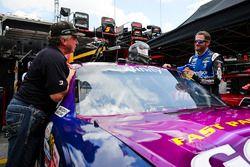 Dale Earnhardt Jr., JR Motorsports Chevrolet and Joe Nemechek
