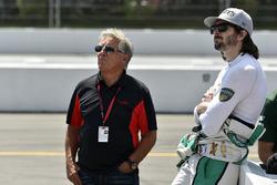 Mario Andretti, J.R. Hildebrand, Ed Carpenter Racing Chevrolet