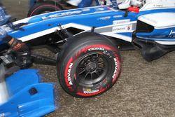 Kobayashi Kamui, KCMG, Yokohama new soft tyre type