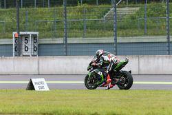 Jonathan Rea, Kawasaki Racing practice start