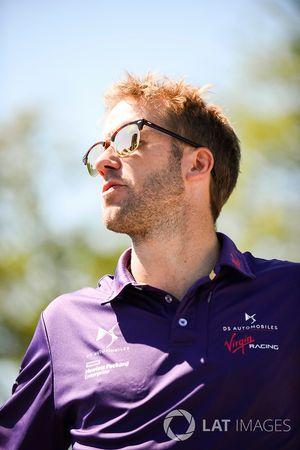 Sam Bird, DS Virgin Racing, pendant la parade des pilotes