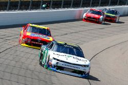 Blake Koch, Kaulig Racing Chevrolet, Ty Majeski, Roush Fenway Racing Ford