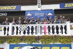 Race winner Christopher Bell, Kyle Busch Motorsports Toyota