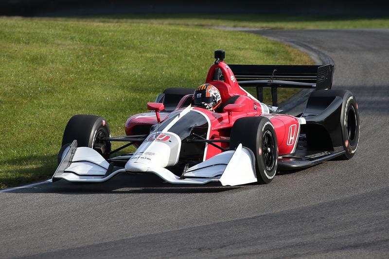Oriol Servia teste la Honda 2018