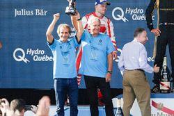 Alain Prost et Jean-Paul Driot sur le podium