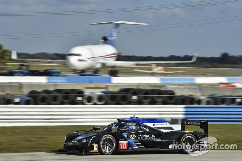 6. P: #10 Wayne Taylor Racing, Cadillac DPi