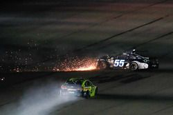 Reed Sorenson, Premium Motorsports Toyota, crash