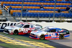 Kyle Benjamin, Joe Gibbs Racing Toyota e Ty Majeski, Roush Fenway Racing Ford