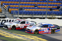 Kyle Benjamin, Joe Gibbs Racing Toyota and Ty Majeski, Roush Fenway Racing Ford