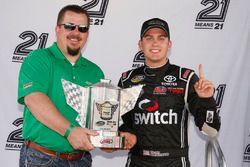 Noah Gragson, Kyle Busch Motorsports Toyota wins the pole
