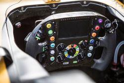 Renault Sport F1 Team RS17 detalle de volante