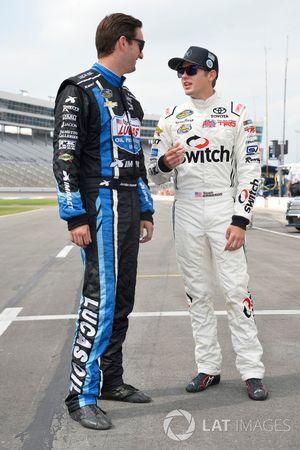 Jordan Anderson, Rick Ware Motorsports Chevrolet, Noah Gragson, Kyle Busch Motorsports Toyota