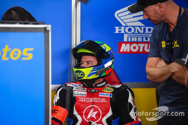 #55 National Motos, Honda: Emeric Jonchiere, Stephane Egea, Damian Cudlin