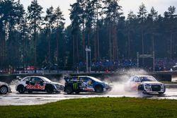 Mattias Ekström, EKS, Audi S1 EKS RX Quattro, Johan Kristoffersson, PSRX Volkswagen Sweden, VW Polo