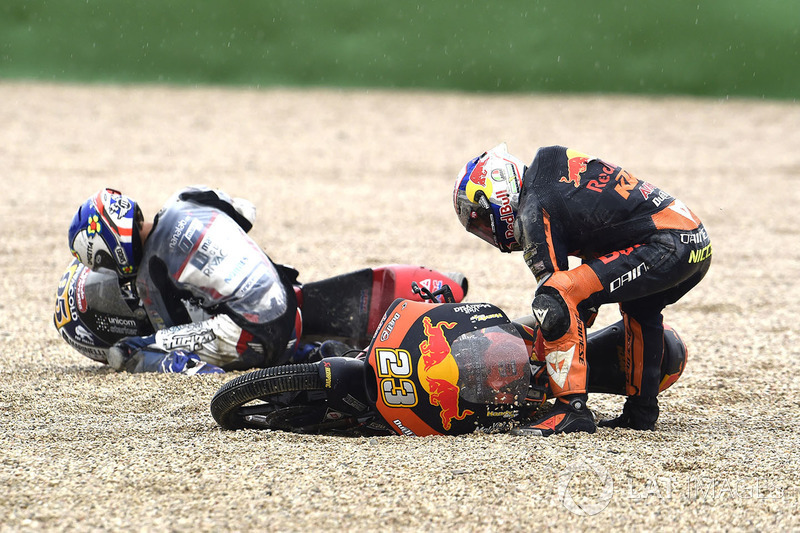 Никколо Антонелли, Red Bull KTM Ajo и Жюль Данило, Snipers Team, Moto3