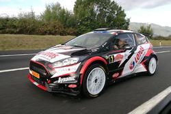 Kajetan Kajetanowicz, Ford Fiesta R5, LOTOS Rally Team, sulla Roma-Napoli